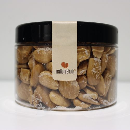 Salted fried almonds. 275g PET