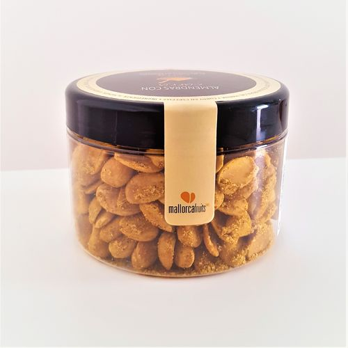 Almendras con curry. Bote 275g