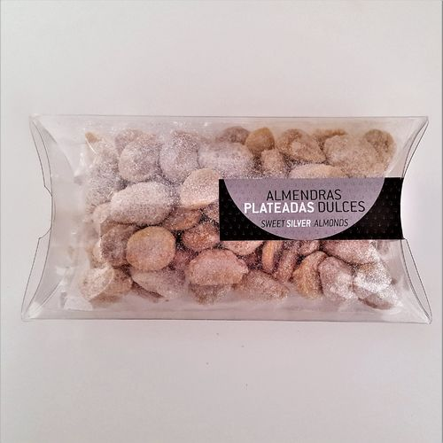 Sweet silver almonds. 100g snack